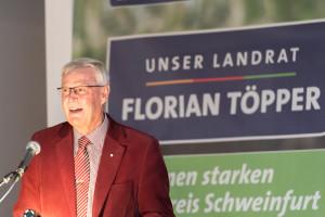 SPD-Fraktionsvoritzender Hartmut Bräuer schlägt Amtsinhaber Florian Töpper zur Wiederwahl vor