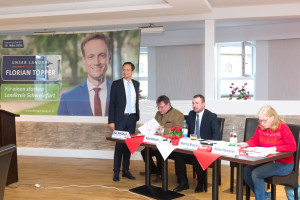 Florian Töpper mit Kai Niklaus, Stefan Rottmann und Heike Meissner