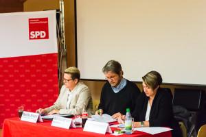 Wahlleitung Marina Braum, Wolf-Dietrich Lang, Uschi Guggenbichler