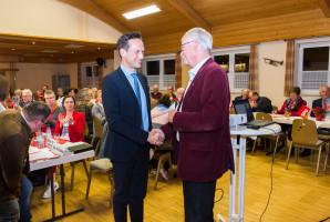 Landrat Florian Töpper und Hartmut Bräuer