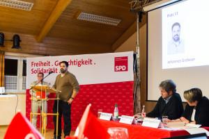 Johannes Grebner, Bürgermeisterkandidat Üchtelhausen
