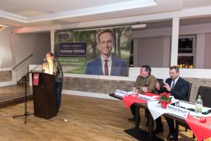 Schlusswort der stv. Kreisvorsitzenden und Bürgermeisterkandidatin von Röthlein, Martina Braum