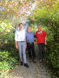 Landrat Florian, Töpper; Kreisvorsitzender Kai Niklaus; Vorsitzende sozialdemokratischer Frauen Heike Joos