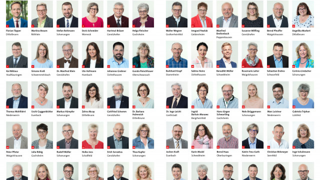 Die Kreistagskandidatinnen und -kandidaten